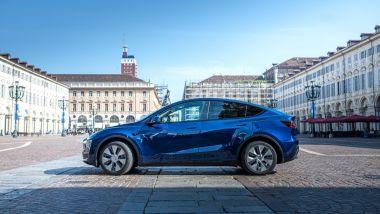 Tesla, la nuova Model Y a Torino