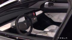 Tesla Model 3: al centro della plancia ci sarà un monitor da 15 pollici