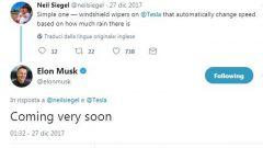 Tesla Model 3, ancora sui tergi