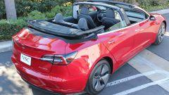 Tesla Model 3 cabrio posteriore