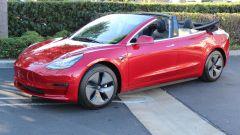 Tesla Model 3 cabrio