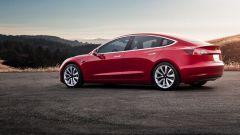 Tesla Model 3, prezzi folli per acquistarla prima che arrivi in Europa