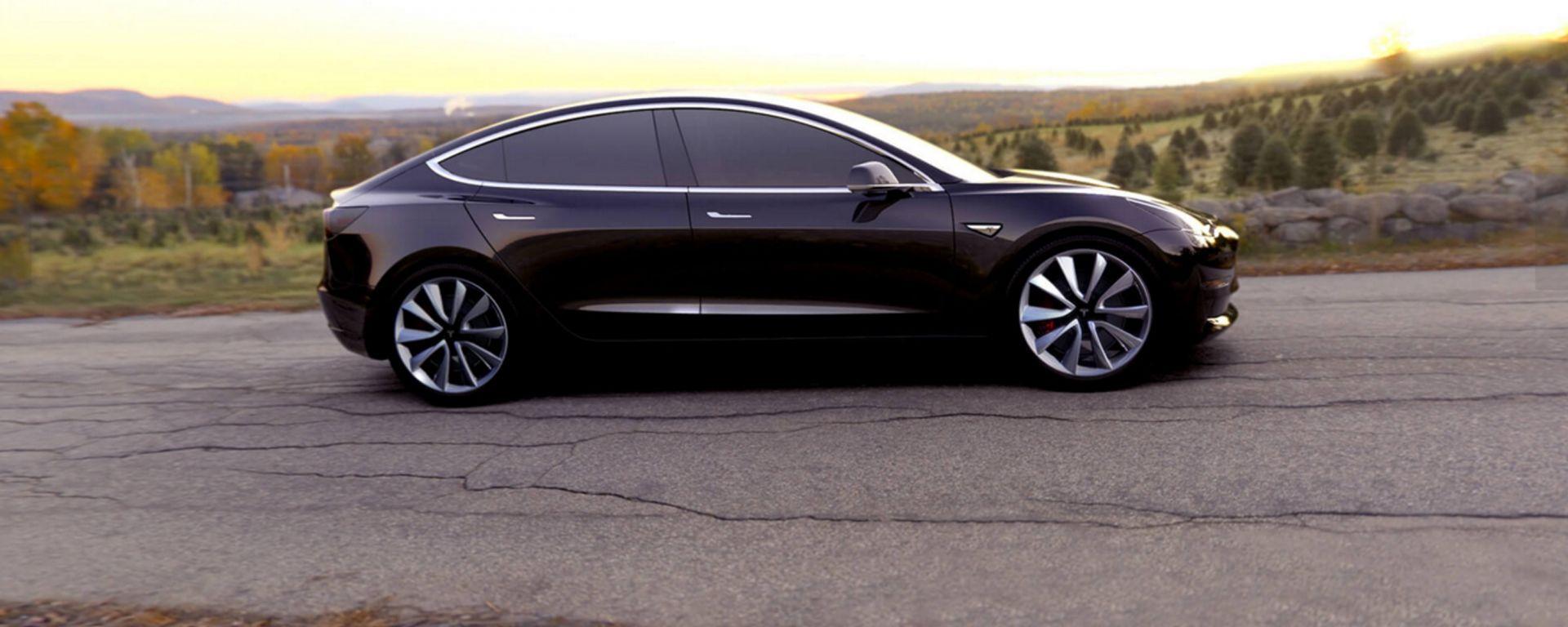 Tesla Model 3: dopo l'autonomia, ora ne viene svelata l'accelerazione