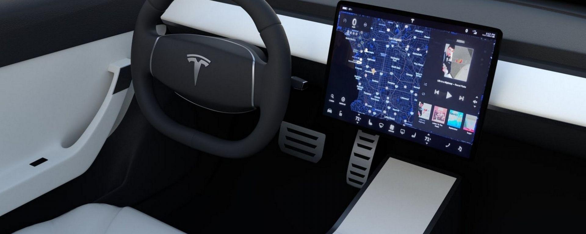 Tesla Model 3, e il tettuccio in Alcantara?