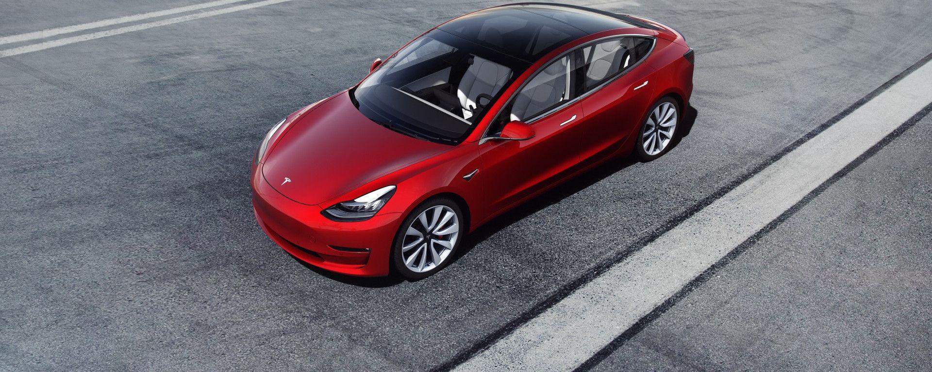 Tesla Model 3: frontale
