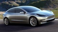 Tesla Model 3: con il ghiaccio non si apre - Immagine: 1