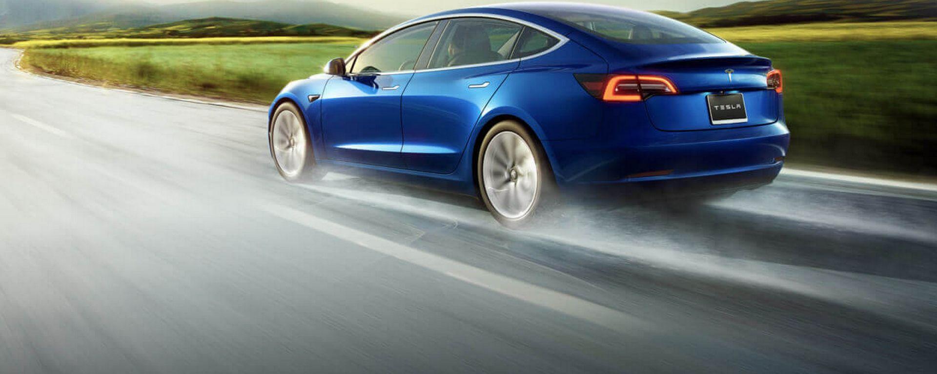 Tesla Model 3, in Europa è già l'elettrica più venduta in assoluto