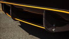 Tesla Model 3 JD Customs, dettaglio dell'estrattore posteriore