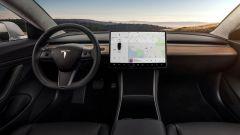 Tesla Model 3: la plancia