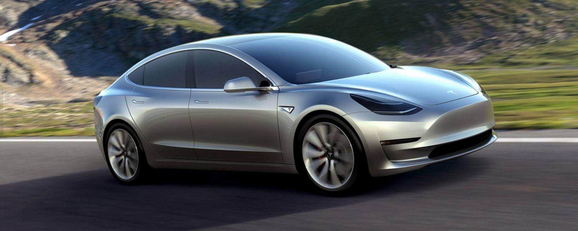 Tesla Model 3: la prossima elettrica di Musk costerà 35.000 dollari