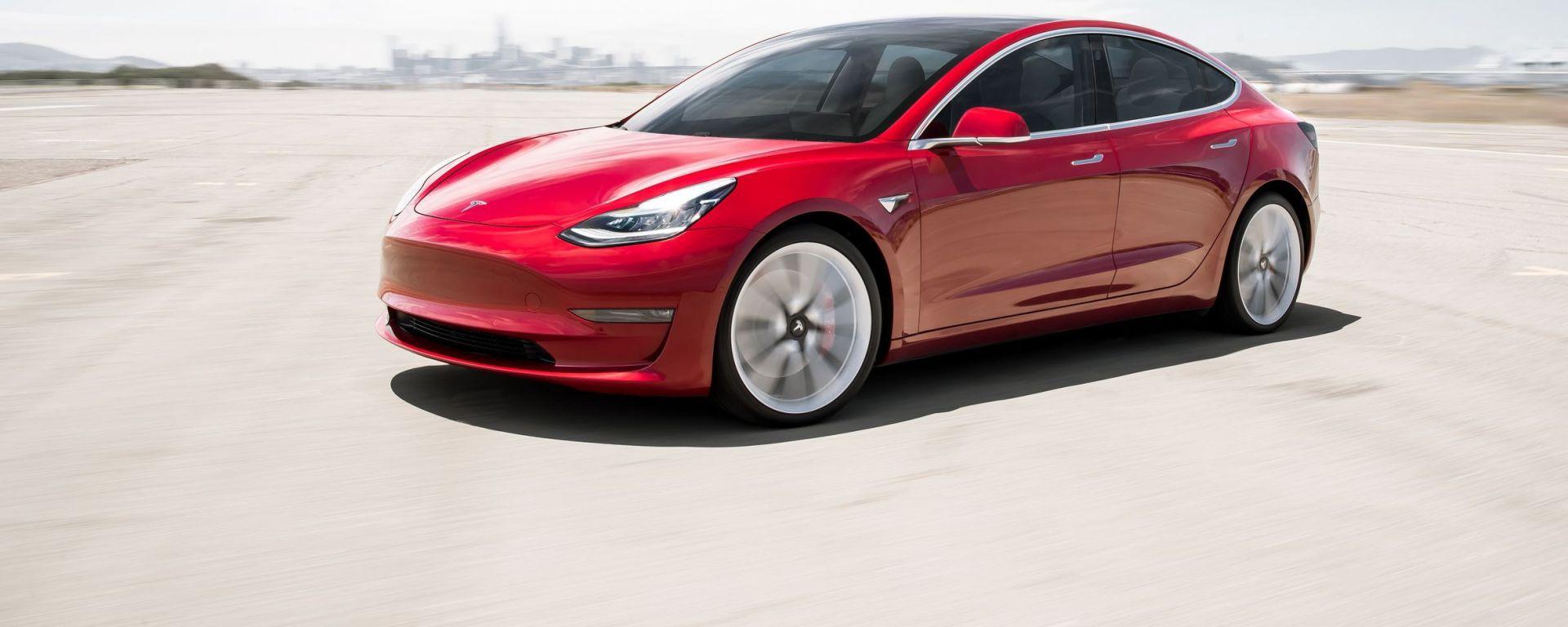 Tesla Model 3, la terza auto più venduta a dicembre 2019 in Europa