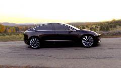 Tesla Model 3: l'autonomia sarà di 345 km
