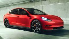 Tesla Model 3 modificata da Novitec: sportiva e di classe