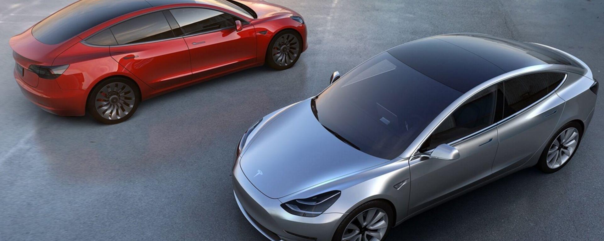 Tesla Model 3: nuove informazioni sull'elettrica pop di Elon Musk