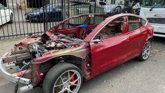 Tesla Model 3 Performance: funziona ma è stata venduta come pezzi di ricambio