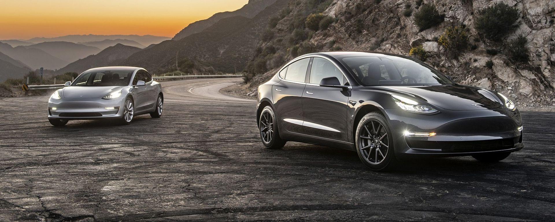 Tesla Model 3, produzione sempre a rilento