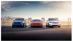 Tesla Model 3, Tesla Model S e Tesla Model X