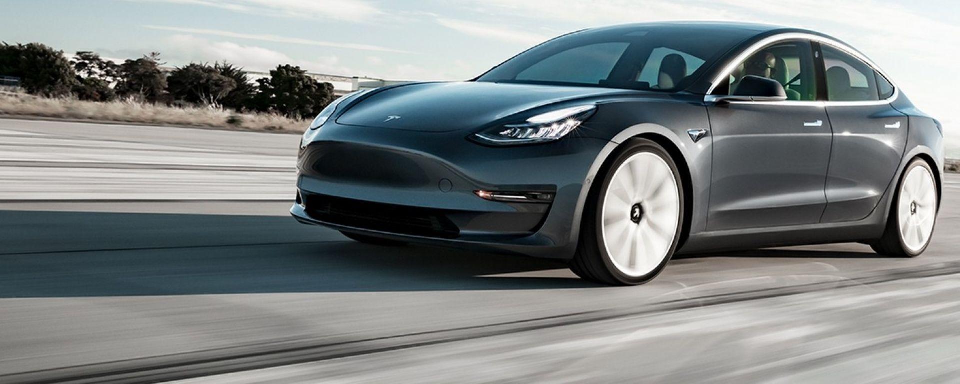Tesla Model 3, un concentrato di tecnologia