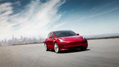 Tesla Model 3, vista frontale