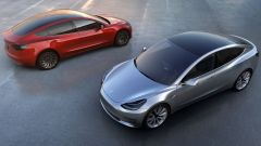 Tesla Model 3: viste di 3/4