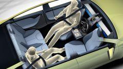 Tesla: sedili girevoli e volante scorrevole? Brevetto su Twitter