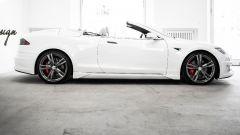 Tesla Model S Cabrio: non un fake! La fa ARES Design di Modena