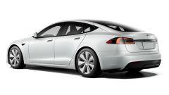 Tesla Model S e Model X 2021: dietro cambia poco