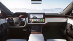 Tesla Model S e Model X 2021: l'abitacolo rinnovato