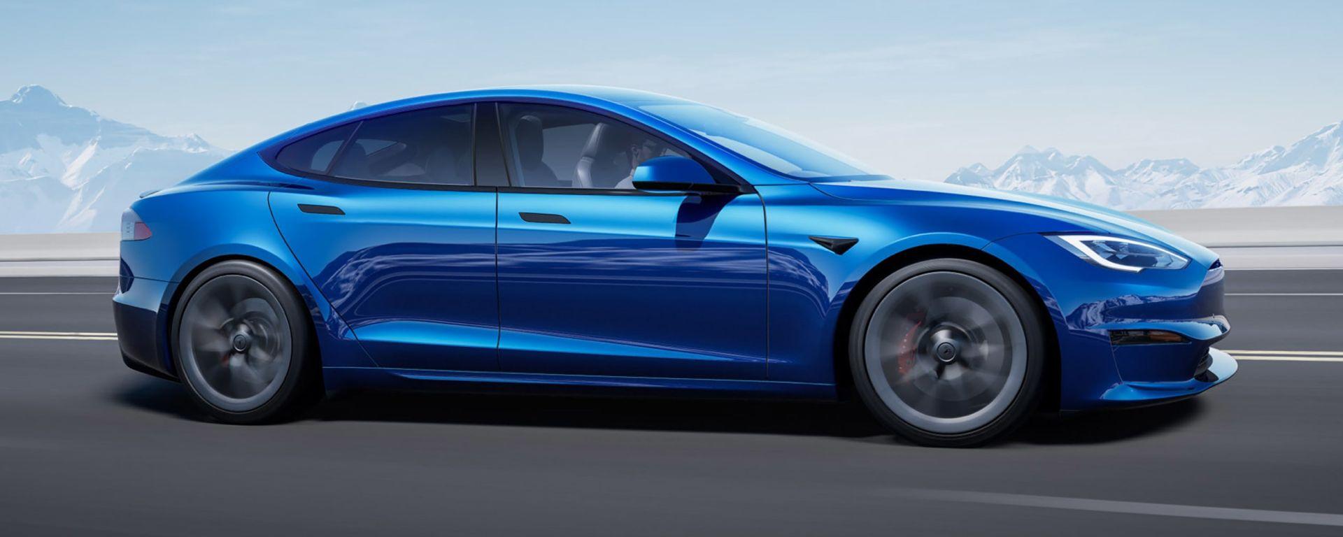 Tesla Model S e Model X 2021: stile più pungente e aerodinamico per la berlina