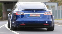 Tesla Model S: il posteriore