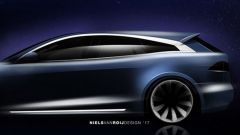 Tesla Model S Shooting Brake, serie limitata made in Europe - Immagine: 4