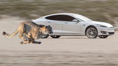 Tesla Model S video Youtube: accelerazione, motore, immagini