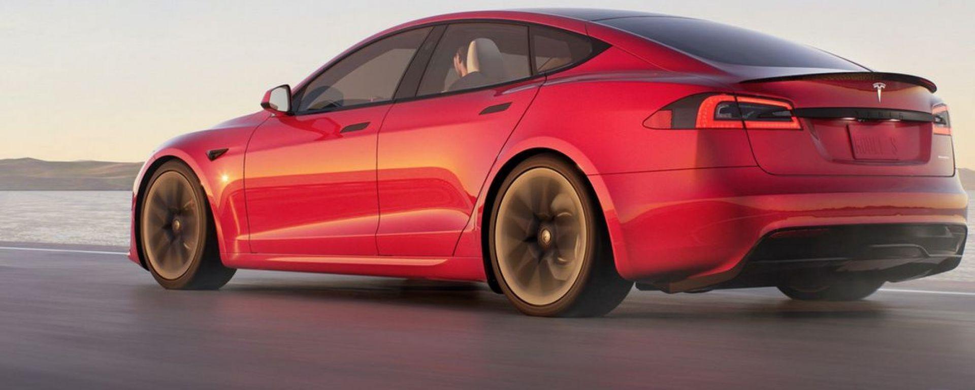 Tesla Model S Plaid, niente versione Plus
