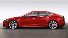Tesla Model S: ecco il primo restyling della coupé di Elon Musk - Immagine: 5