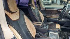 Tesla Model S: sedili