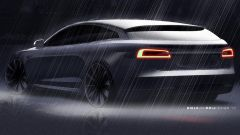 Tesla Model S Shooting Brake, il teaser