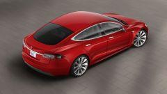 Tesla Model S: vista dall'alto