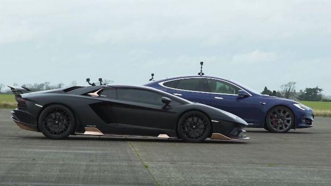 Tesla Model S vs Lamborghini Aventador: il verdetto non è scontato...