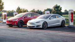 Tesla Model S 75D e Model X 75D: stop a ordini da 14 gennaio 2019