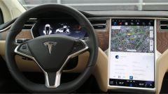 Tesla Model X: la plancia