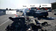 Tesla Model X: un'altra prospettiva dell'incidente