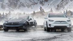 Tesla Model S, Model X e Model 3, nuovo aggiornamento software