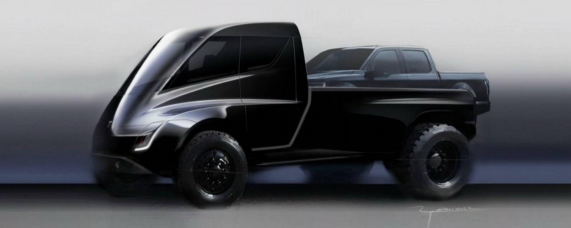 Tesla pick up: a sorpresa tra Roadster e Semi Truck