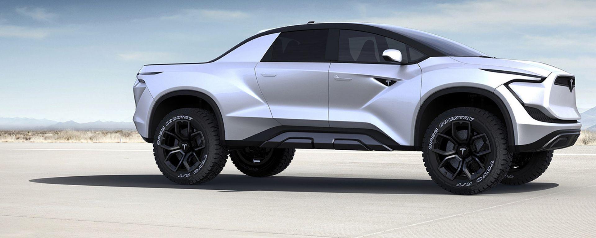 Tesla pickup, sarà così?