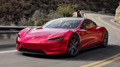 Tesla Roadster con il pacchetto SpaceX: da 0 a 100 in 1,1 secondi!