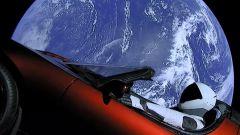 Tesla Roadster: nello spazio con Starman