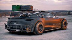 Tesla Roadster Off-Roader 3/4 posteriore
