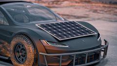 Tesla Roadster Off-Roader dettaglio frontale
