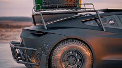 Tesla Roadster Off-Roader dettaglio laterale