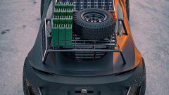 Tesla Roadster Off-Roader vista dall'alto